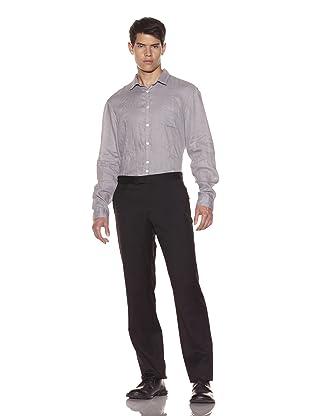 John Varvatos Collection Men's Austin Slim Fit Trouser (Black)