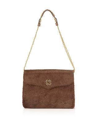 Lena Erziak Women's John Calf Shoulder Bag (Brown)