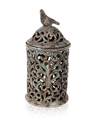 Decorative Bird Jar