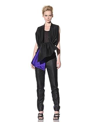 Haider Ackermann Women's Silk Trimmed Vest (Black)