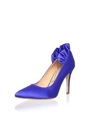Pour La Victoire Bridal Women's Baylie Pump (Blue)