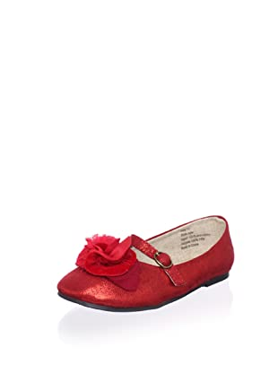 Joyfolie Kid's Julie Flat (Red)