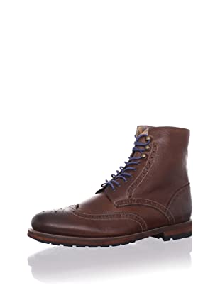 Ted Baker Men's Poallu Lace-Up Boot (Brown Leather)