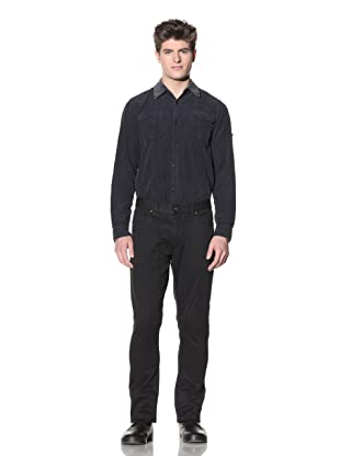 Projek Raw Men's Slim Five-Pocket Pants (Black)