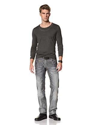 MOD Men's Chris Straight Leg Jeans (Blue Grey)