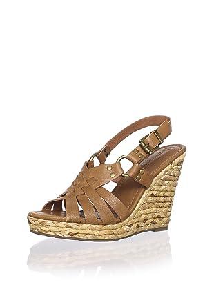 Corso Como Women's Diver Wedge Sandal (Camel Milan)