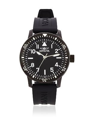 Invicta Men's 11425 Specialty Black Dial Black Polyurethane Watch