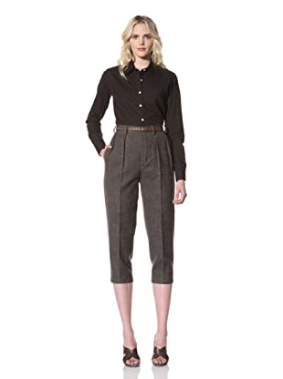 Billy Reid Women's Cropped Trouser (Grey)