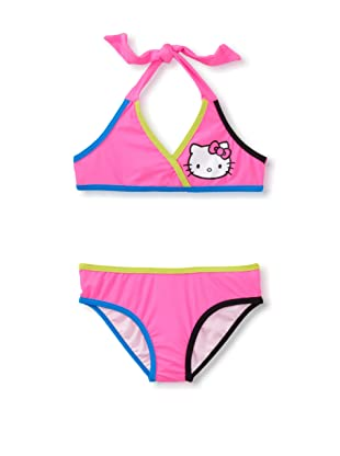 Hello Kitty Girl's 2-6X Halter Bikini Set (Pink)