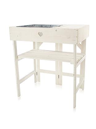 Esschert Design Potting Table (Off White)