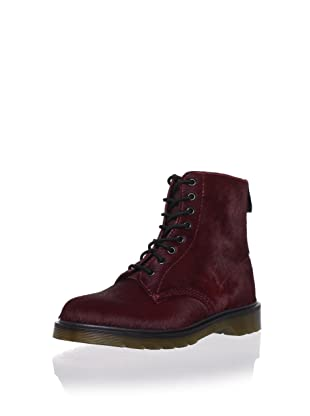 Dr. Martens Unisex Pascal 8-Eye Boot (Cherry Red)