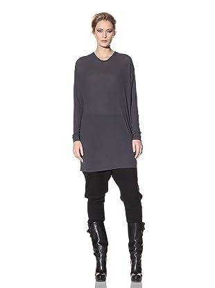 Haider Ackermann Women's Oversized Longsleeve Top (Coal)