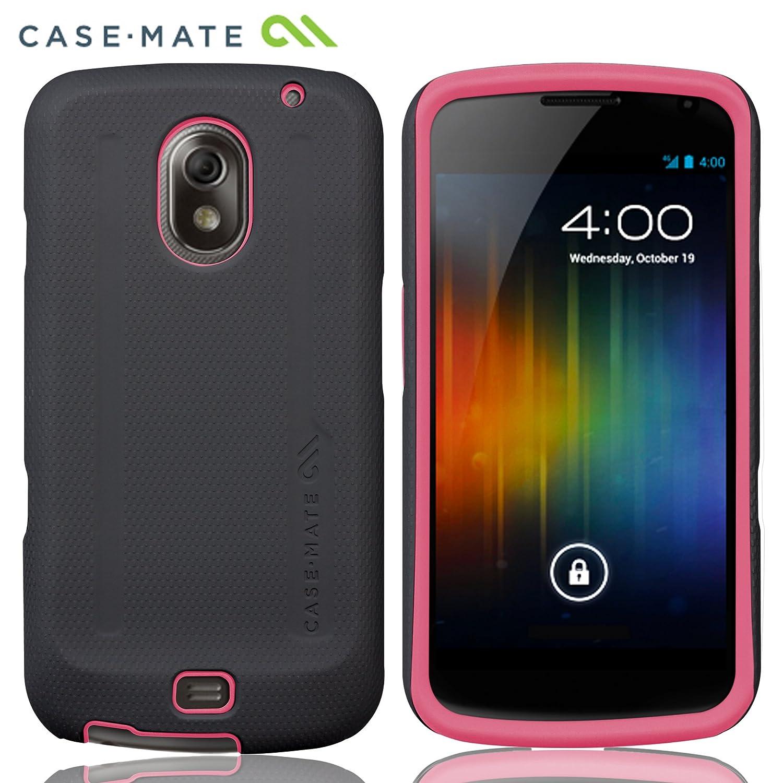 Case-Mate docomo GALAXY NEXUS SC-04D Hybrid Tough Case, Black/Pink ドコモ ギャラクシー ネクサス 専用 ハイブリッド タフ ケース, ブラック / ピンク CM017194
