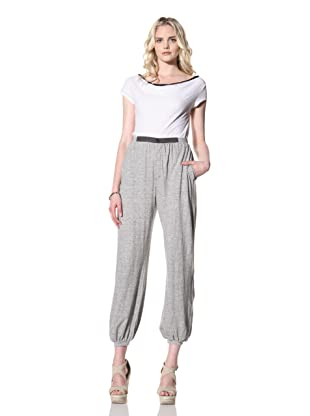 Billy Reid Women's Jersey Pant (Heather Grey)