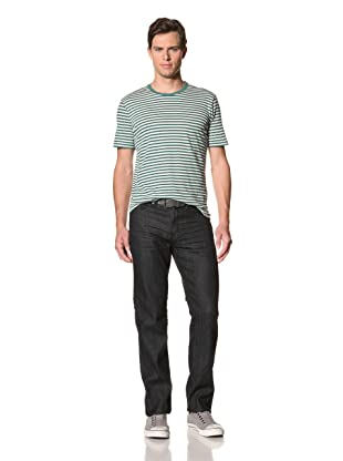 Postage Denim Men's Prescott Straight Jeans (Japanese Dark Indigo)