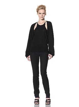 Haider Ackermann Women's Cut-Out Sweater (Black)