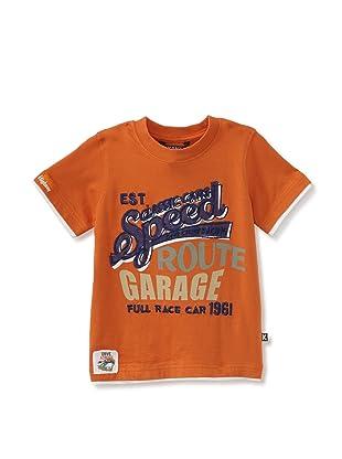 KANZ Boy's Short Sleeve Tee (Orange)