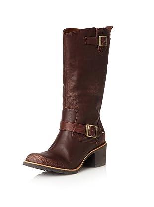 Dr. Martens Women's Becca Boot (Dark Tan)