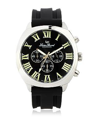 Lucien Piccard Men's 28133BK Black Rubber Watch
