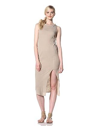 Rogan Women's Haloa Asymmetrical Dress (Sand)