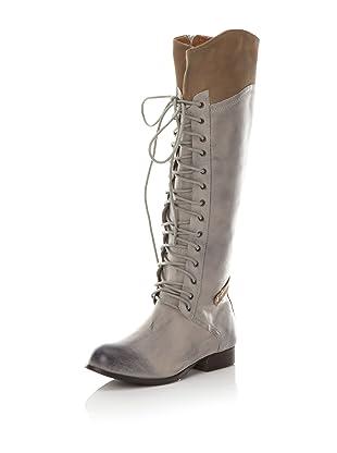 Kelsi Dagger Women's Jutta Lace Up Boot (Bone/Tan Leather)