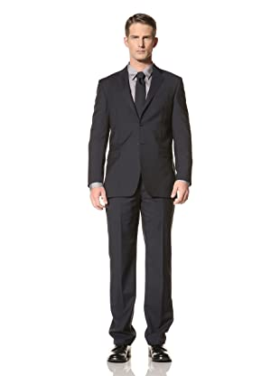 Yves Saint Laurent Men's Pinstripe Suit (Navy)