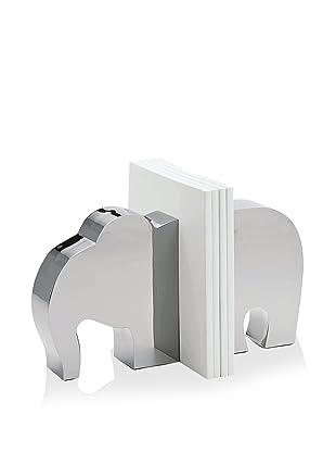 Philippi Set of 2 Elephant Bookends