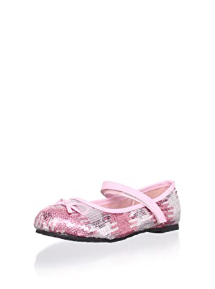 China Doll Kids Hollywood Sequin Mary Jane (Pretty In Pink)