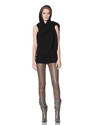Haider Ackermann Women's Hooded Scarf (Black)