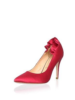 Pour La Victoire Bridal Women's Baylie Pump (Red)