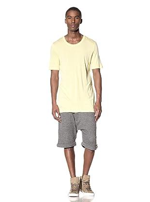 B: Scott Men's Seamed Layering Tee (Pale Yellow)