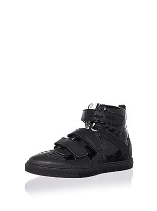 Vivienne Westwood Men's Mid-Height Urban Sneaker (Black)