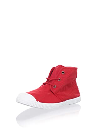 Cienta Kids Hi-Top Sneaker (Red)