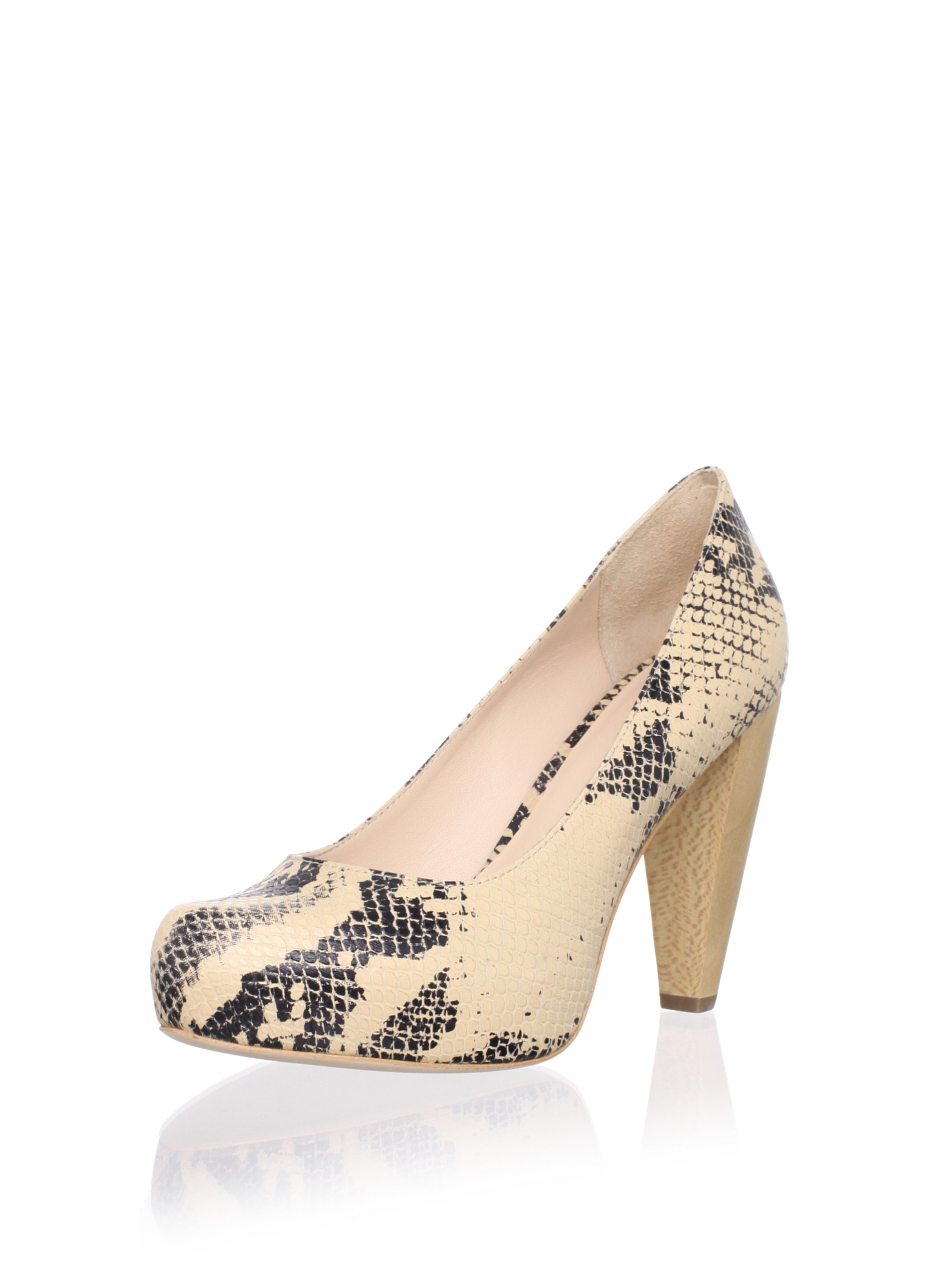Loeffler Randall Women's Esther Hidden Platform Pump (Natural)