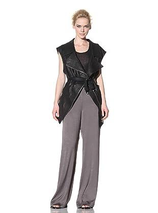 Haider Ackermann Women's Leather Vest (Black)