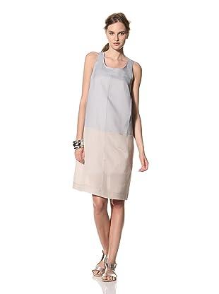 MARNI Women's Sleeveless Colorblock Dress (Blue)