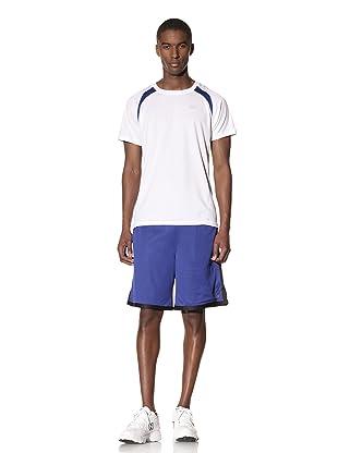 New Balance Men's Pindot Mesh Short (Surf the Web/Black)