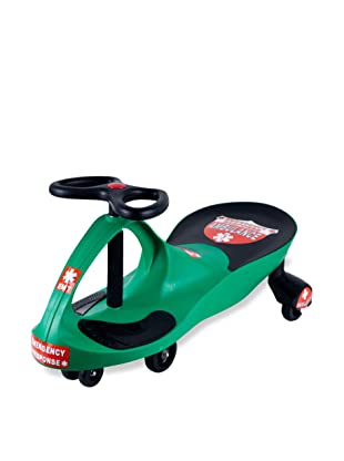 Lil' Rider Responder Ambulance Wiggle Ride-On Car, Green