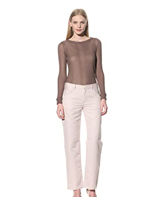 See by Chloé Women's Linen Pant (Pink)