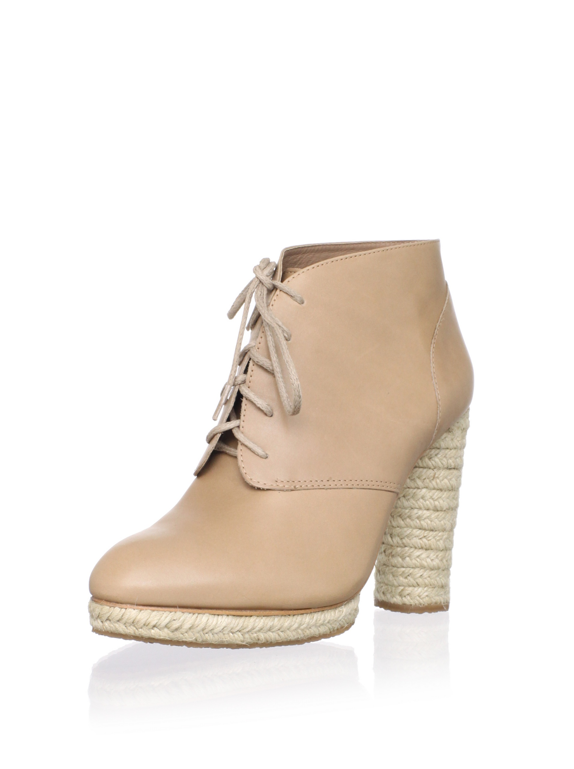 Loeffler Randall Women's Nadia Espadrille Ankle Boot (Tortora)
