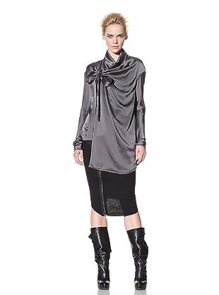 Haider Ackermann Women's Wrap Front Shirt (Anthracite)