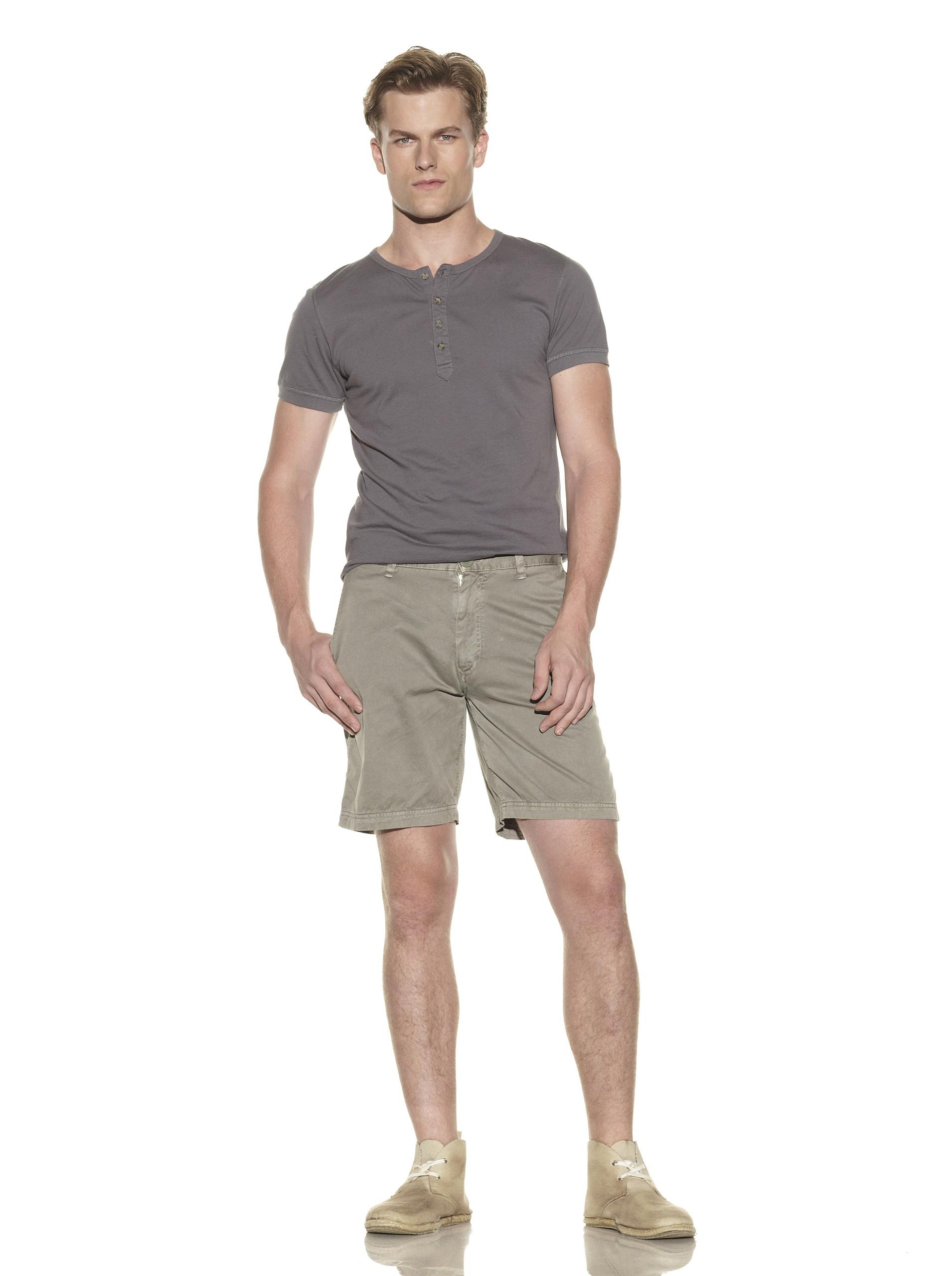 nüco Men's Twill Shorts (Olive)