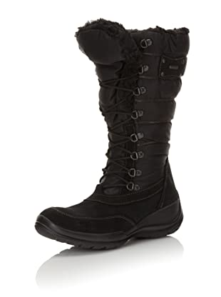Geox Women's Donna Aosta Ankle Boot (Black)