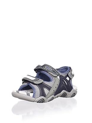 Billowy Kid's Sport Sandal (Dark Grey)