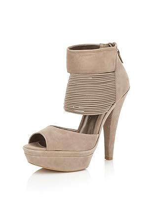 HK by Heidi Klum Women's Gillian Platform Sandal (Taupe)