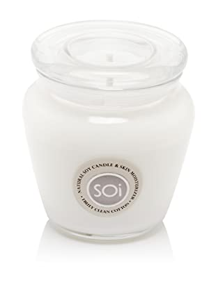 The SOi Company Truly Clean Cotton 16-Oz. Jar Candle