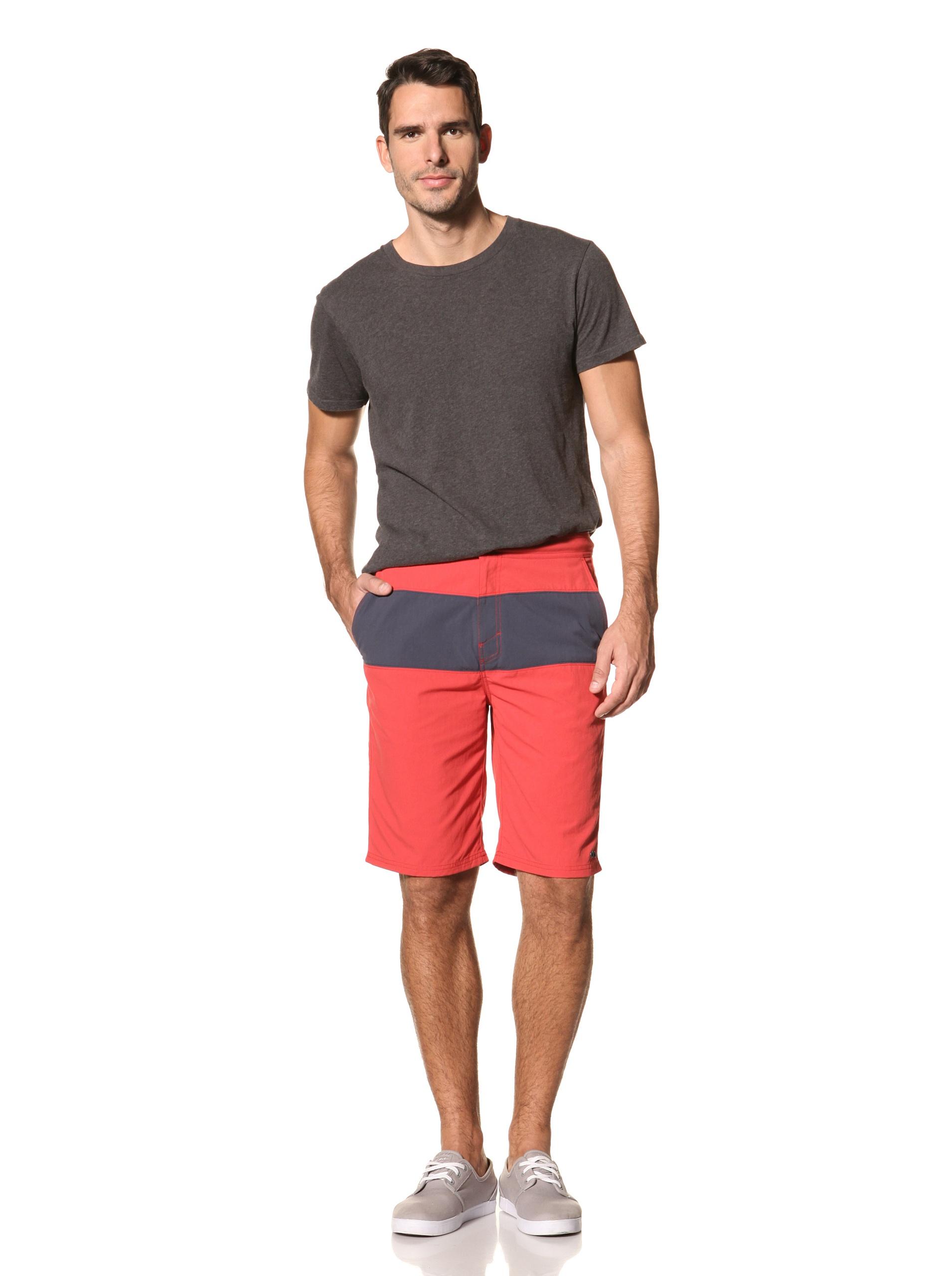 nüco Men's Utility Shorts (Red)