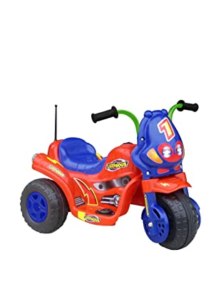 Lil' Rider Battery-Powered 3-Wheel Bike, Red/Blue