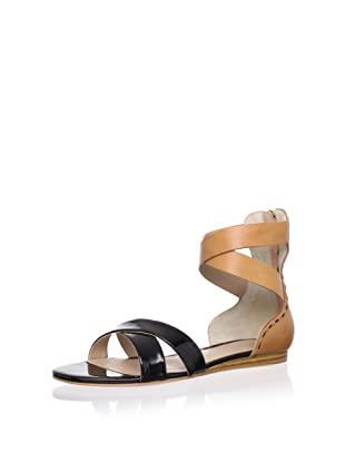 Pour La Victoire Women's Fabia Sandal (Black Patent)