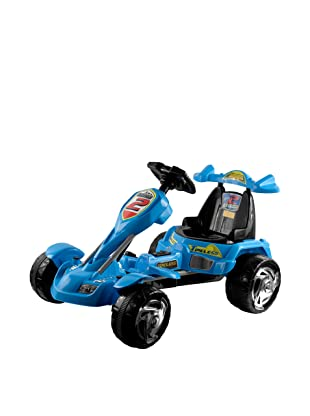 Lil' Rider Battery-Powered Blue Ice Go-Kart, Blue